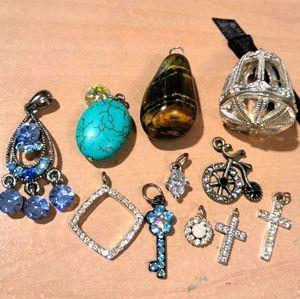 Lot of beautiful pendants